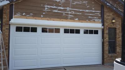 White Garage Door With Windows Garage Door Repair